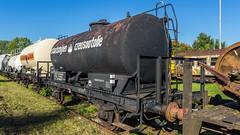 Ketelwagens van de Zuid-Limburgse Stoomtrein Maatschappij (ZLSM) - Simpelveld - Zuid-Limburg