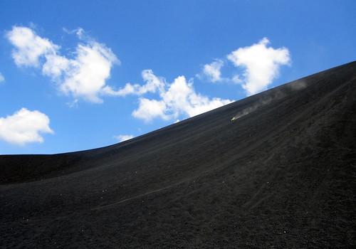 Diana's volcano boarding