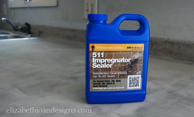 Sealing Concrete Counters