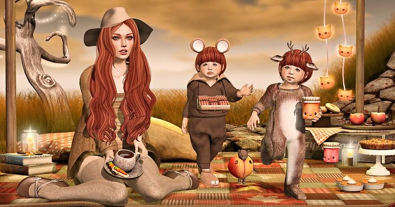 Amelie et les petites: Autumn Delicatessen