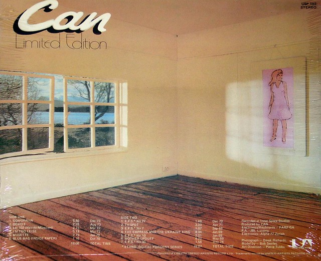 "CAN LIMITED EDITION Holger Czukay 12"" LP"