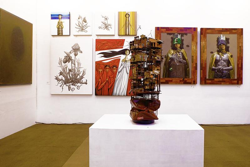 Sundae Scoops goes to Manilart 2015 Arte Pintura Gallery featuring Honesto Guiruela