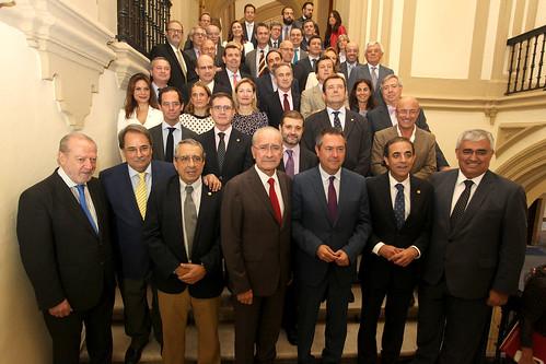 V Aniversario Andalucía Tech y firma Eje Sevilla-Málaga