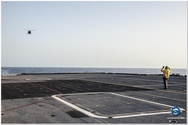 BE Ship LEOPOLD I fully operational – Op. Sophia EUNAVFOR MED