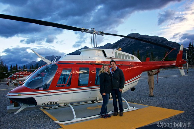 Our Morning Helicopter Tour In Canmore  Vancouver Blog Miss604
