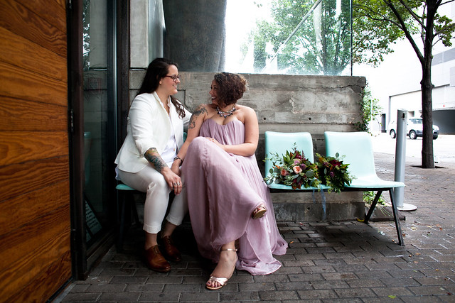 Love Wins, Gay Wedding, Lesbian Wedding, Lindsey and Shaun's Downtown Wedding in Austin, Texas
