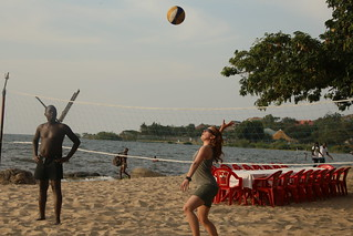Some Beach Volleybal.