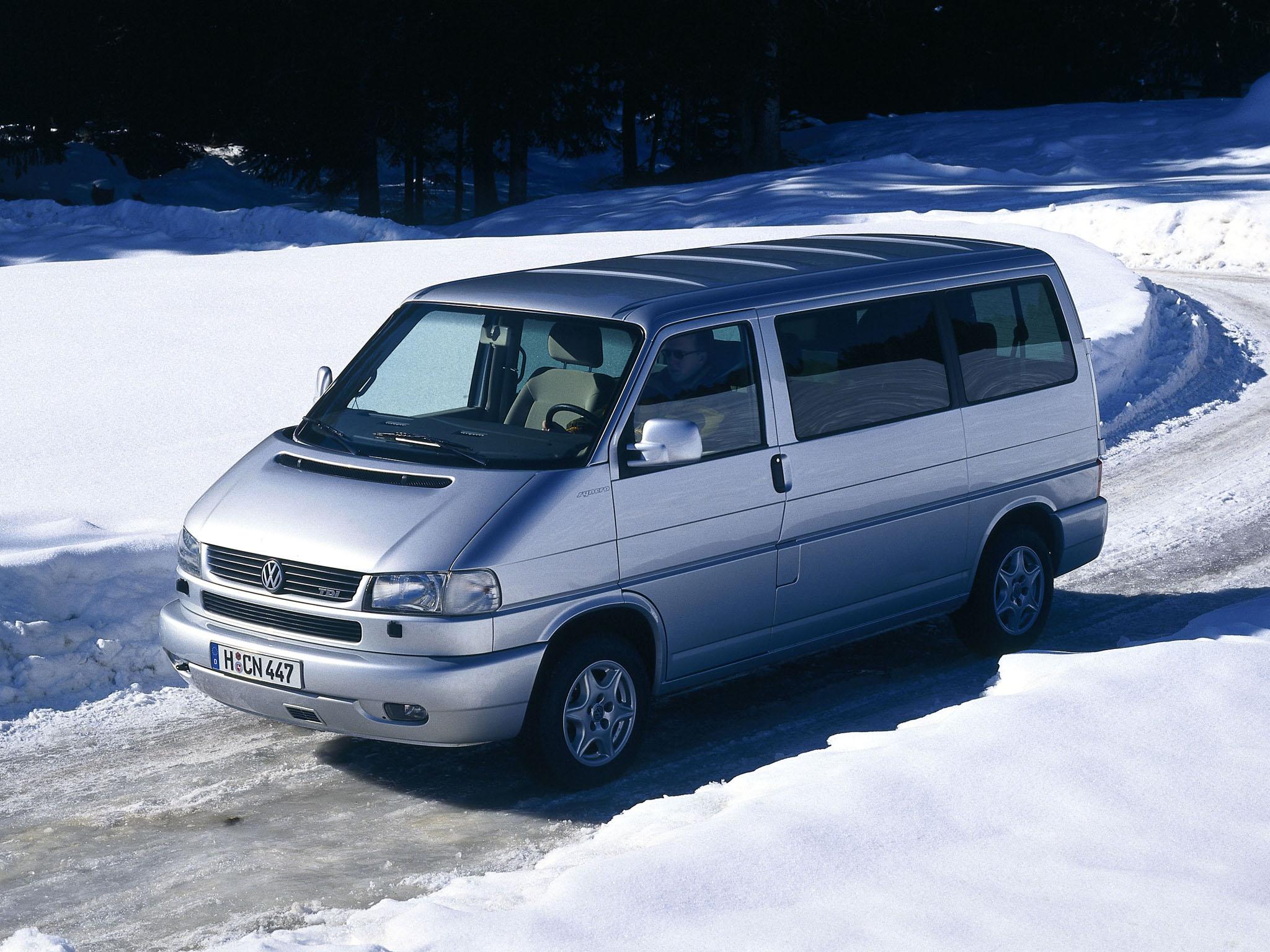 Семейный Volkswagen T4 Multivan. 1996 - 2003 годы