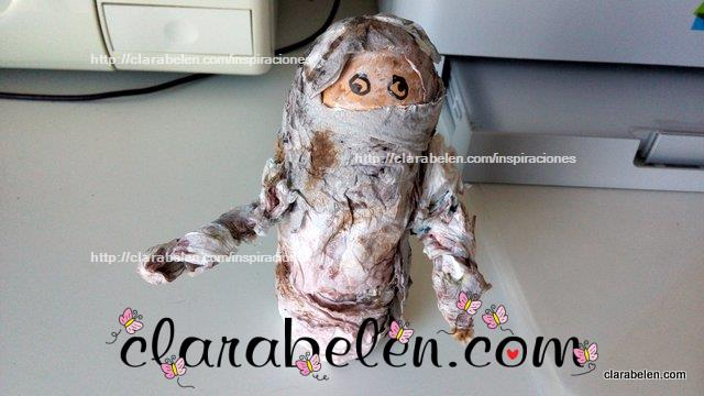 Momia de Halloween para niños