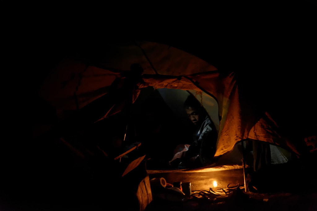 Rinjani Camp - night 2 (blur corrected)