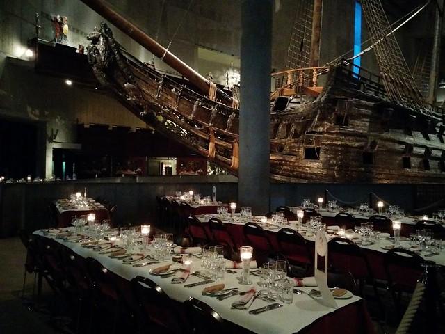 Jobbkonferens: Middag på Vasamuseet