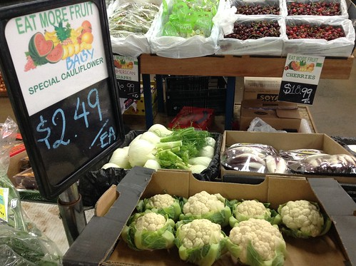 Baby cauliflower $2.49 each