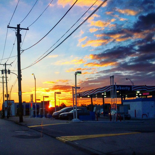 cloud philadelphia sunrise
