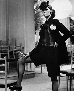 Yves Saint Laurent - Le Smoking - Danielle Sauvajeon - 1968