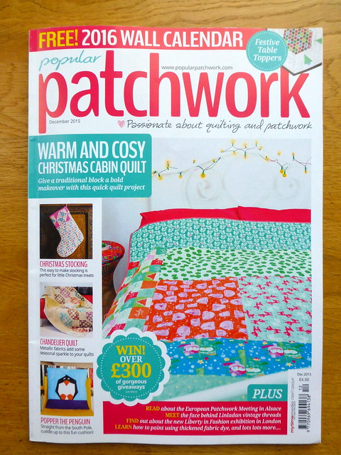 Popular Patchwork Dec'15 Issue
