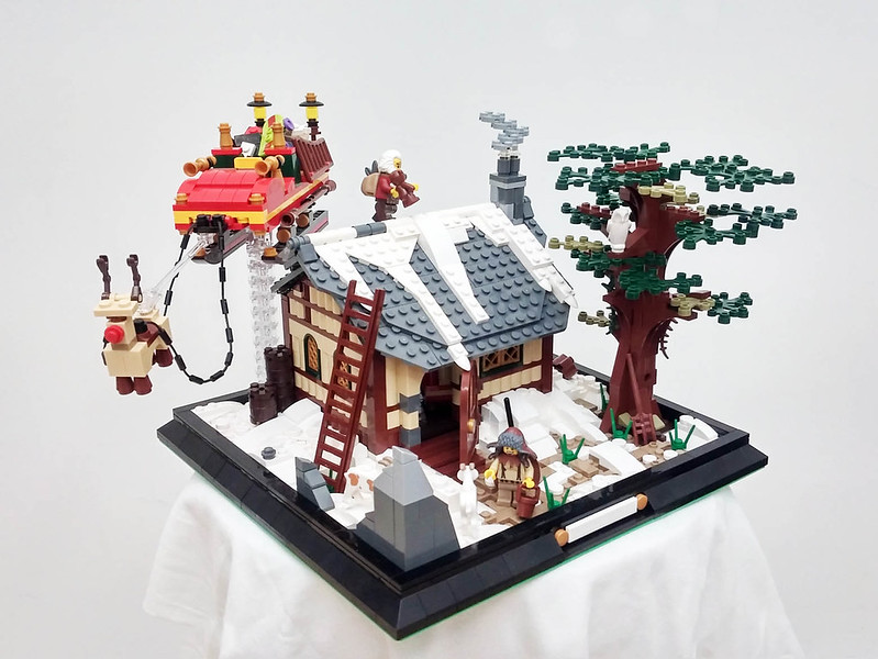 MOC - Santa Claus Is Coming To Town 23396999054_f898fd5038_c