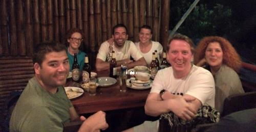 Pakbeng: Le groupe des bananes