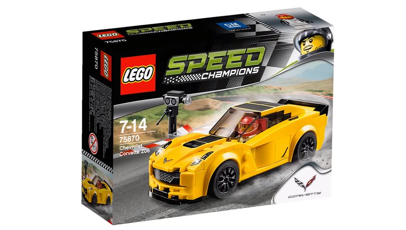LEGO Speed Champions 2016 | 75870 - Chevrolet Corvette Z06