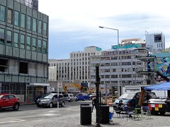 Christchurch. Rebuilding the city centre after it was destroyed in the 2011 earthquake and subsequent after shocks.