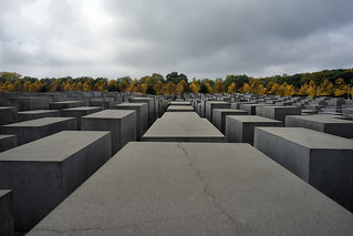 Billede af Memorial to the Murdered Jews of Europe. sonya7mii hdr dynamicphotohdr berlin holocaust memorialtothemurderedjewsofeurope