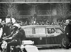 Nixon turns away from antiwar demonstrators: 1969
