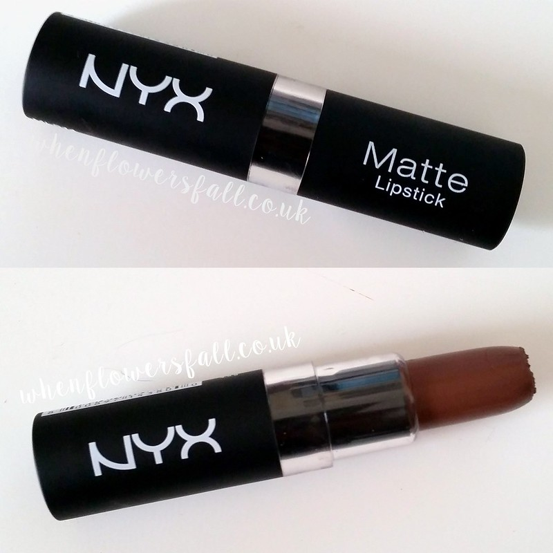 Nyx maison, beauty, whenflowerfall, lipstick, dupe, mac stone,