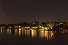 Night Scene at Chiang Mai Riverside
