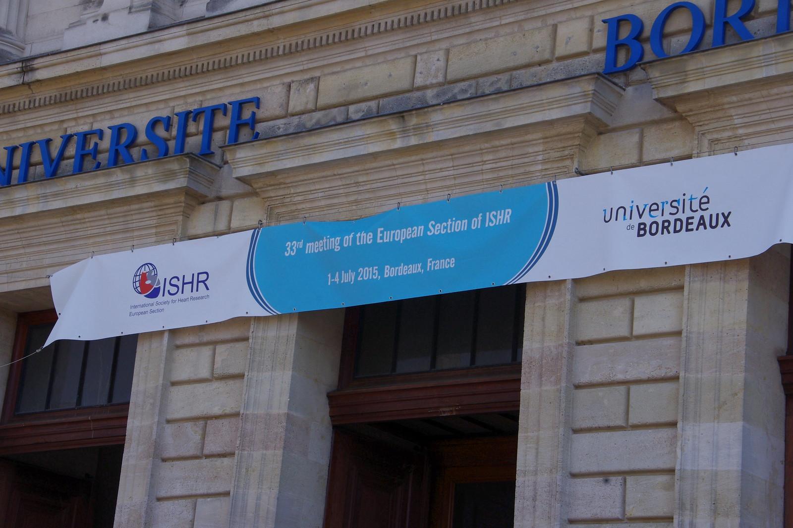 ISHR 2015 - Bordeaux