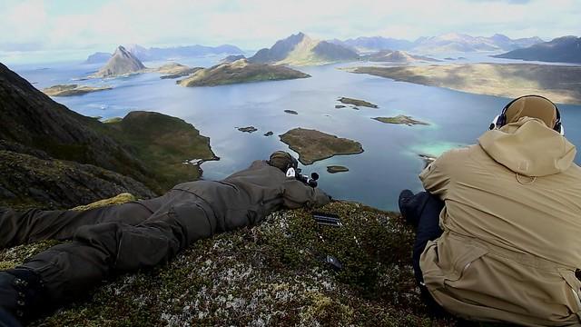 Filming Fieldsports Britain in the Lofoten Islands