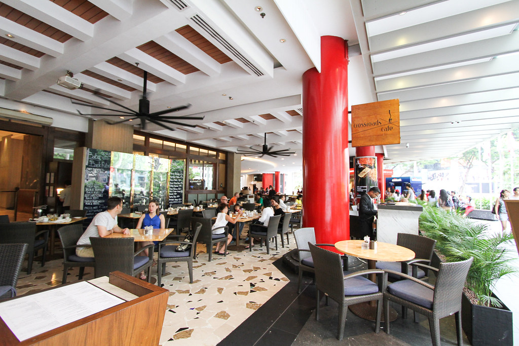 Singapore Marriott Tang Plaza Hotel: CROSSROADS CAFE