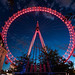 Glowing London Eye by _Hadock_