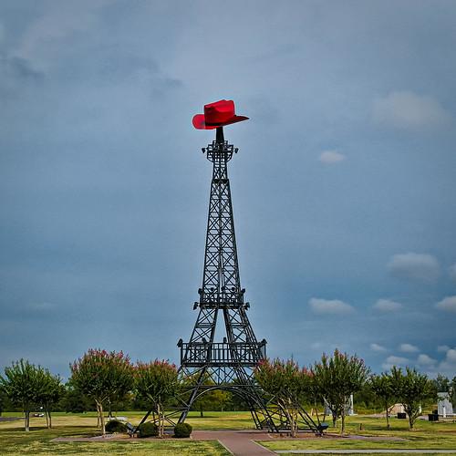 paris tower statue architecture texas eiffeltower landmark wtf