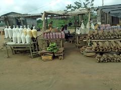 Roadside Marketplace in Ondo