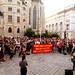 Spontankundgebung vor Innenministerium nach Flüchtlingstragödie