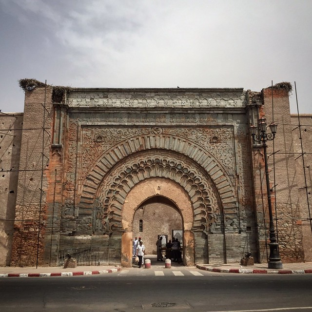 The Oldest Gate in Marrakech