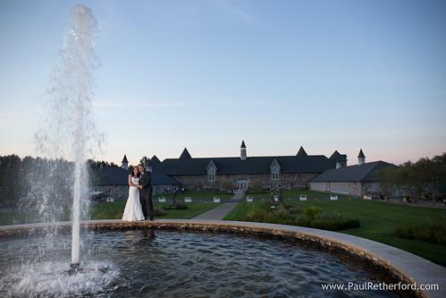 Castle Farms Wedding Photo