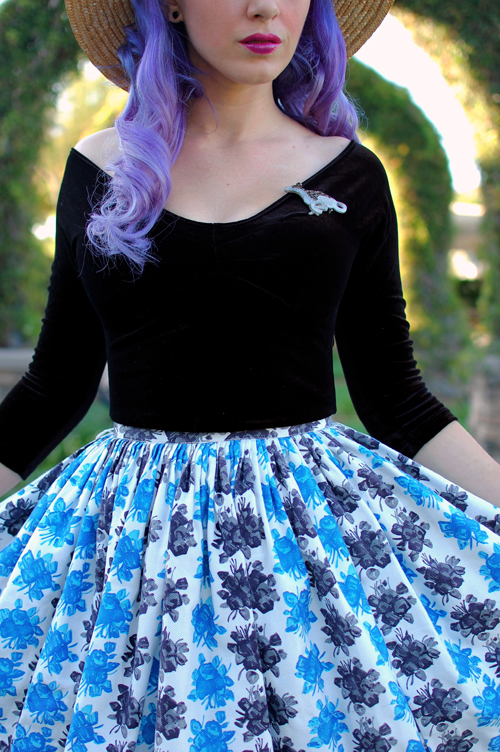 When Decades Collide Vintage Skirt Pinup Girl Clothing Lolita Top
