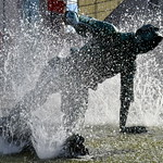 Picture of the Splash statue of Sir Tom Finney