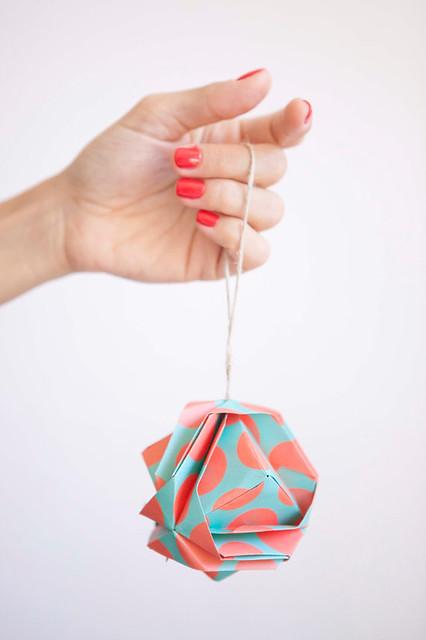 Origami Geometric Ornament