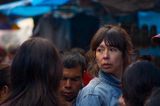 Au marché de Nahuala, Guatemala