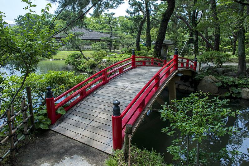 Strolling through Shukkeien