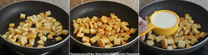 How to make Bread Halwa Recipe - Step2