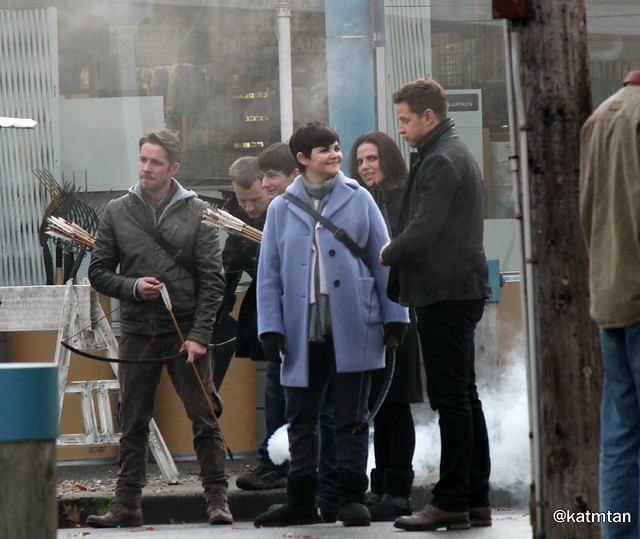 Ouat Filming (November 04, 2015)