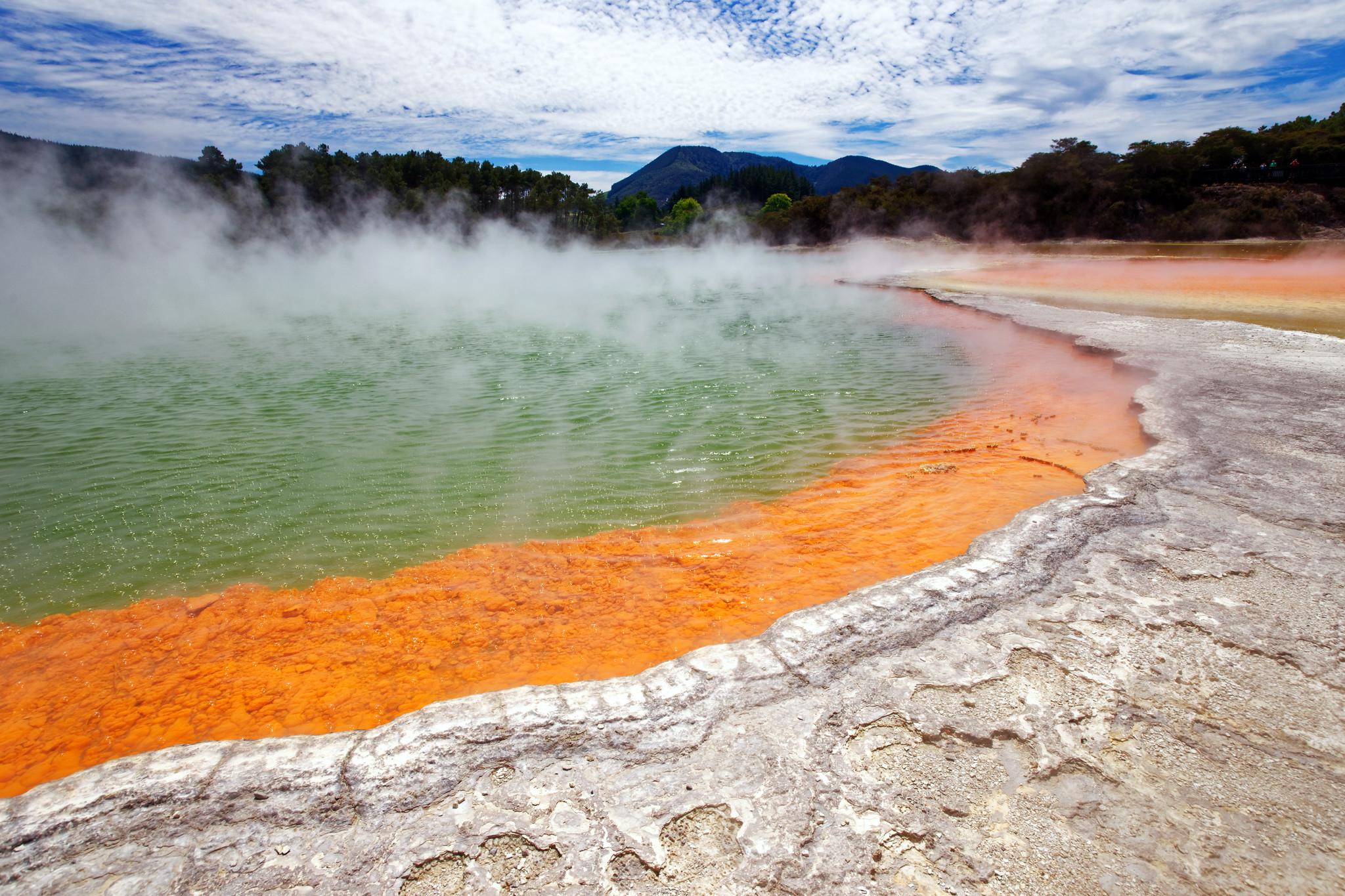 Champagne Pool Waiotapu geothermal area