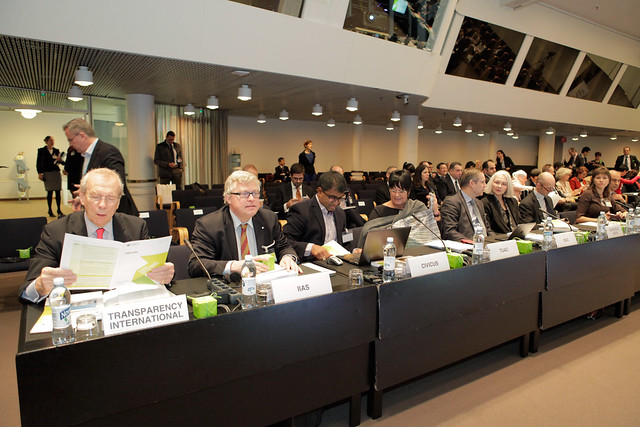 OECD Public Governance Ministerial Meeting in Helsinki, Finland, on 28 October 2015