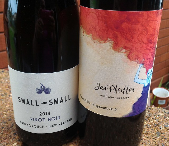 Naked Wines Small Pinot Noir Jen Pfeiffer The Rebel Tempranillo