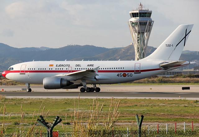 EJERCITO DEL AIRE A310 T.22-1 / 45-50