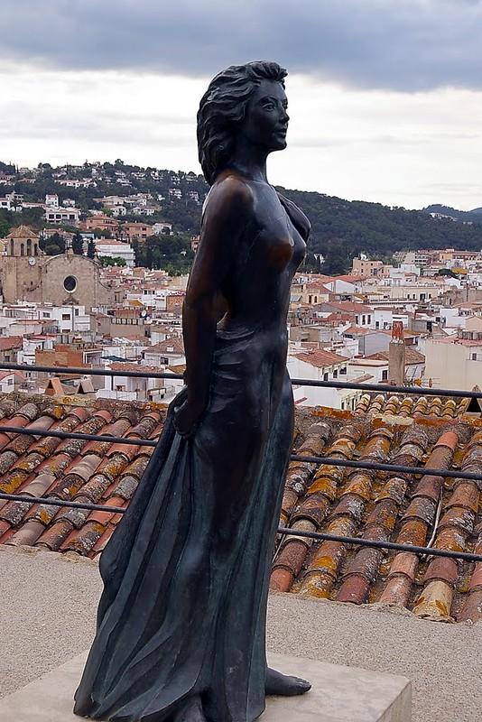 Ava Gardner - statue