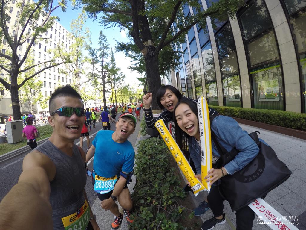 大阪馬拉松-跑步-76