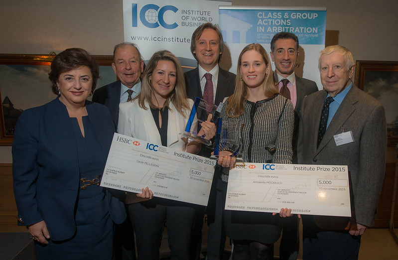 The 2015 ICC Institute Prize - Award Ceremony